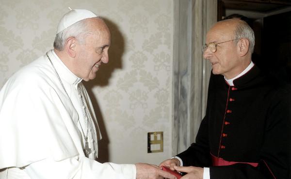 Opus Dei Prelado Fernando Ocariz e Papa Francisco